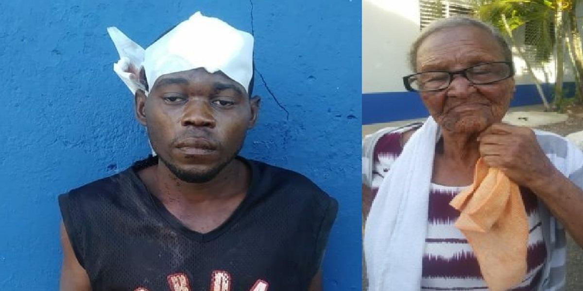 Photo of Lo que le hizo este haitiano a esta señora de 85 años de edad.
