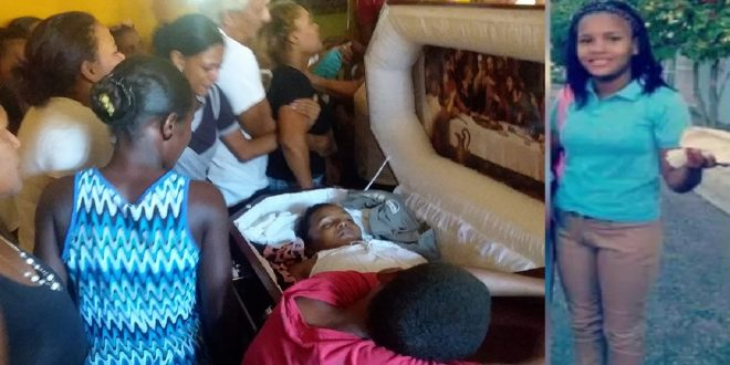 Photo of Velan en Azua adolescente que murió a manos de su expareja en Gualey.