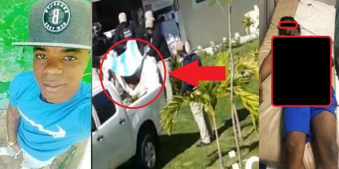 Photo of Momento en que Policías sacan el cuerpo sin vida del joven que grabó video rogando que no lo mataran.