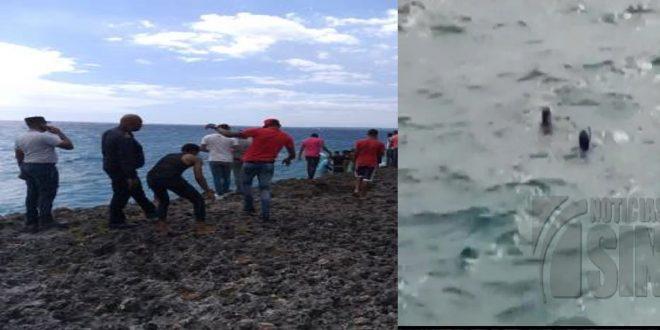 Photo of Hombre pierde la vida al ser arrastrado por una ola mientras sostenía relaciones con su pareja.