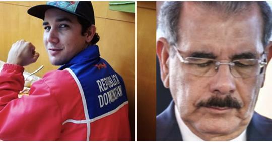 Photo of Atleta del Año le rechazó carta de felicitación al presidente Medina