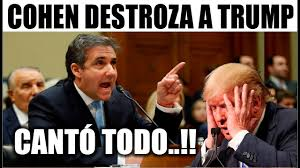 Photo of Ultimo minuto EEUU ¡TERRIBLE! COHEN TRAICIONA A TRUMP