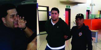 """Photo of Agarran al """"Niño malo"""" en aeropuerto internacional del Cibao."""
