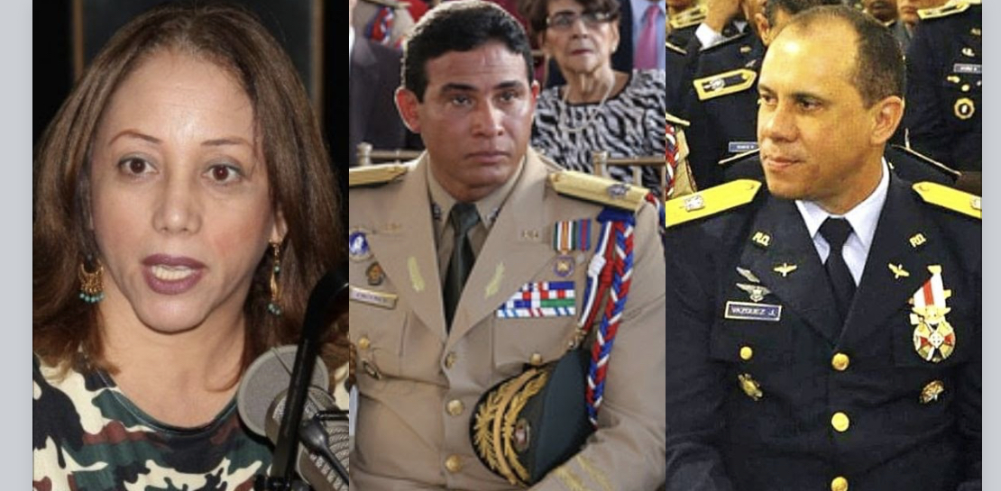 Photo of Claudia Perez denuncia que el General Richard Vásquez utiliza avión de la Fuerza Aérea para trafico de dolares en la frontera Dominico-Haitiana también señala que Cáceres Silvestre seguridad de Danilo Medina es cómplice