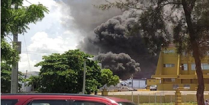 Photo of Se registra incendio en Inspectoría de la Junta Central Electoral