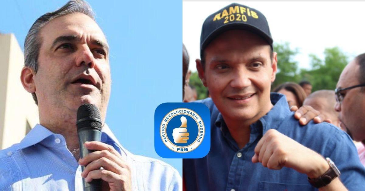 Photo of Dirigentes del PRM proponen una alianza presidencial entre Luis Abinader y Ramfis Trujillo