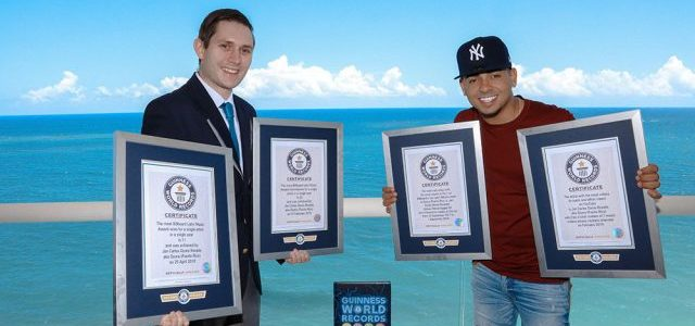 Photo of Ozuna logra cuatro récords Guinness