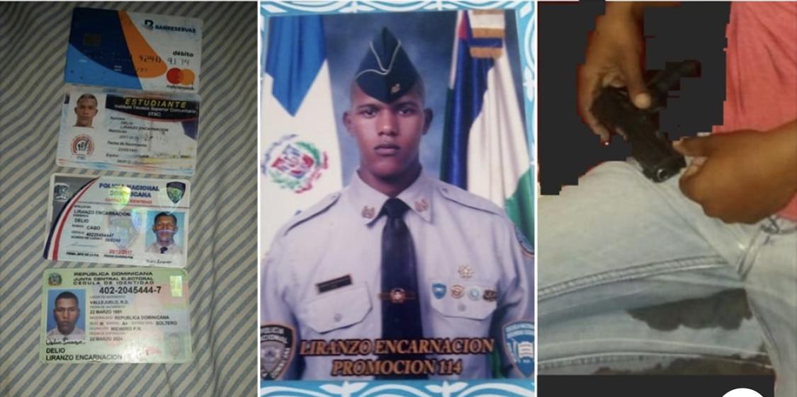 Photo of Dentro Del Baño.Agente de la Policía Nacional se suicida de un disparo en SDE