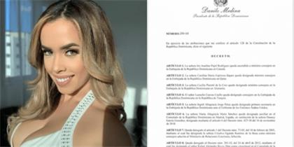 "Photo of Danilo Medina designa hija de ""La Tora"", Ingrid Jorge en los Emiratos Árabes Unidos; otros decretos"