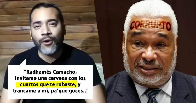 """Photo of José Martínez Brito arremete contra Radhamés Camacho por apresar a joven que le dijo """"corrupto"""""""