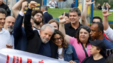 Photo of Lula sale de la cárcel y dice: «Han intentado criminalizar a la izquierda»